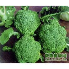 Chinês, fresco, verde, brócolos, flor