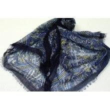 custom scarves polyester edge design muslim hijab turkish scarf