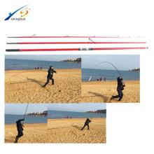 SFR064 divers couleur en fibre de carbone flans de pêche surf casting