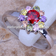 petite fleur anneaux style grec anneaux en gros anneau de bijoux