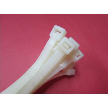 Attaches de câble en nylon autobloquantes en plastique