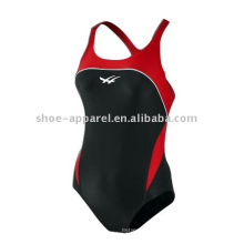 Alto desempenho anti-uv mulheres swimwear para treinamento