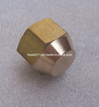 Brass/Copper/Bronze Precision Machined Flare Cap Acorn Nut