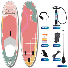 Superior Manufacturer Professional Surfboard Foam Transparent Stand UP Paddle Board Inflatable Water Sport Board For Sale