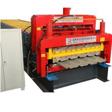 Machine de formage de carreaux et de rouleaux trapézoïdaux