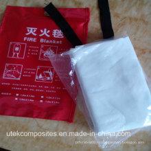 1.5m * 1.5m Одеяло с теплоизоляцией из стекловолокна с силиконовым покрытием