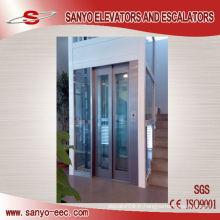 Ascenseur d'onduleur de cabine en verre pour la maison