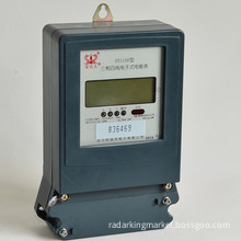Three-Phase Four-Wire Electronic Active Energy Meter with Anti-Flaming Casing