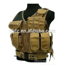 045 Mesh Tan Military Tactical Vest  045 Mesh Tan Military Tactical Vest