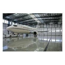Cubierta del hangar del aeroplano de la estructura de acero galvanizada