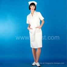 Uniforme novo do vestido das enfermeiras do projeto, uniforme do hospital