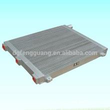 heat radiator/customized manufacturer of aluminum heat radiators of screw air compressor spare parts