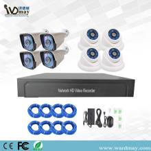 8chs 5.0MP H.265 IP Camera POE NVR Kits