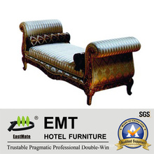 Luxo Star Hotel Bedroom European Style Bed End Stool (EMT-BS06)