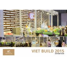 Vietnam Vietbuild 2015 Meubles en rotin patio à Ho Chi Minh - Vietnam