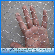 Malla de alambre hexagonal galvanizada de Golden Factory Chicken