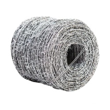 barbed galvanized steel wire the least expensive fencing option