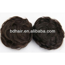 Braids hair chignon, bun hairpiece, wigs hair chignon