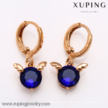 26538- Xuping Charming Pendientes New & Hot Good Quantity Jewelry