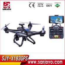PK Bayangtoys X16 CG035 Más nuevo seguidor X6 Drone sígueme Wifi fpv gps zángano con función de cámara de 720p SJY-X183W GPS