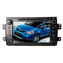 2DIN Car DVD-Player Fit für Toyota Sx4 2006-2012 mit Radio Bluetooth-Stereo-TV-GPS-Navigationssystem
