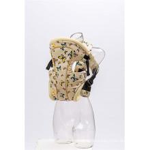 Portabebés de algodón con estampado elegante