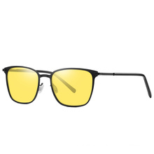 Fashionable italian brand metal sunglasses