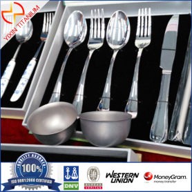 GR1 Pure Titanium Tableware/ Dinnerware Sets
