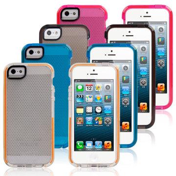 Cas de TPU de peau de vente chaude de basket-ball pour l'iPhone 6s plus l'accessoire de téléphone portable