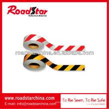 Ruban adhésif réfléchissant de slant bicolor stripe