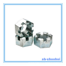 Hex Nut Hexagon Slotted Nut-7/8 ~ 1-1 / 8