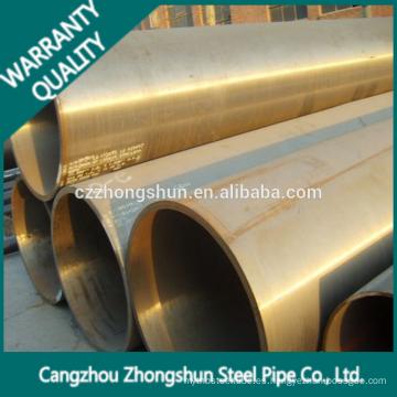 Tubo de acero de aleación hecho en China Venta caliente