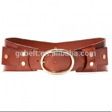 2014 new lady Fashion PU waist belt for dressing