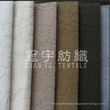 Burnout Velvet Short Pile Cloth for Sofa Fabric