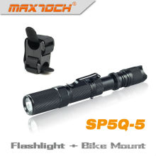 Maxtoch SP5Q-5 Cree Q5 Bicycle Flashlight With Clip
