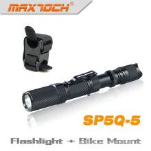 Maxtoch SP5Q-5 Cree Q5 bicicleta lanterna com Clip