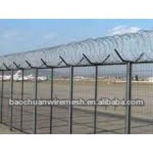 Valla de protección de malla de alambre de aire en tienda (fábrica)