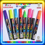 Kaicong Liquid chalk marker, window marker CK-716,glass paint marker, 8 colors