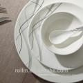 2015 hot new design 16pcs stoneware dinner set, wholesale custom stoneware dinnerware, cheap stoneware square dinnerware set