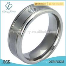 Las mujeres de la joyería del anillo de la plata del vintage, los últimos diseños titanium del anillo para las muchachas