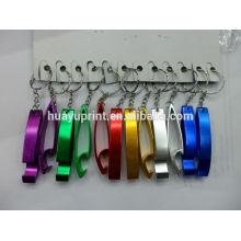 Multifunktionale Aluminiumlegierung Großer Fuß Keychain Flaschenöffner Schlüsselring Großhandelsweihnachtsgeschenk