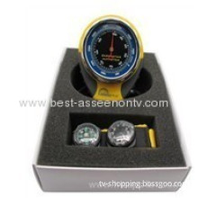 Mountain Climbing, Fishing Supplies/ming High Bkt381 Altimeter Table Above Sea Level