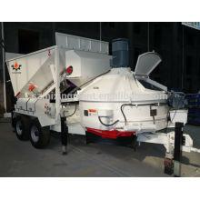 Planet hormigonera hormigonera móvil planta mezcladora MB1200 10-16m3 / h