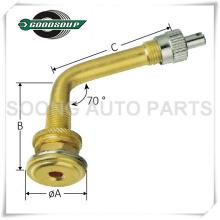 Valves tubeless de trou de valve de pneu de V535 grandes, valve en caoutchouc de valve de pneu, valve de tube