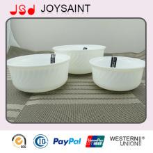 Runde Nudel-Porcelain-Schüssel mit Wellen-Form