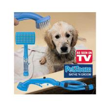 Escova de limpeza do animal de estimação do ABS, escova da preparação do animal de estimação