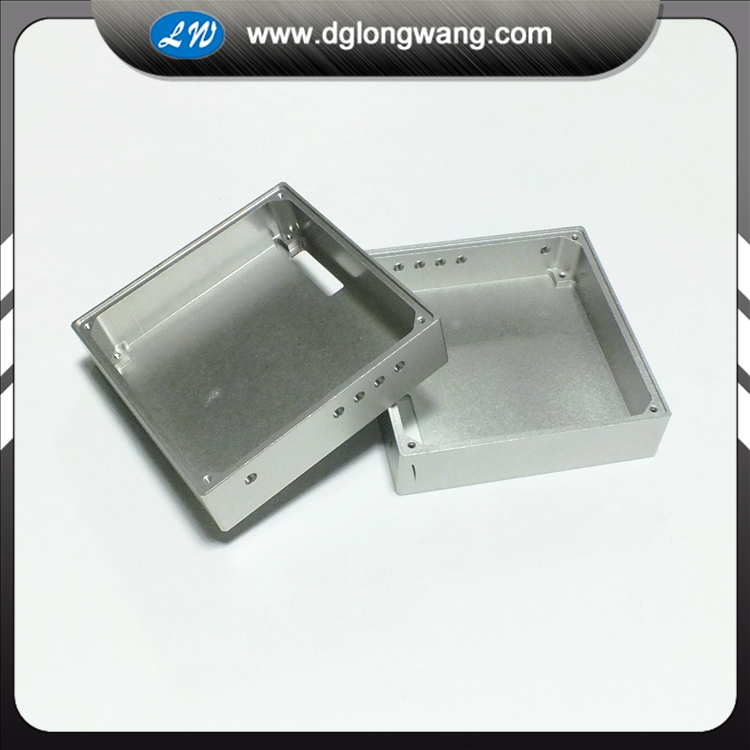 aluminum enclosure machining service