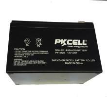 PKCELL 12 V 12 Ah Wiederaufladbare UPS batterie montage linie bleibatterie OEM akzeptieren