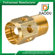 manufacturer best sale forged npt cw617n brass turning parts hydraulic pneumatic threaded