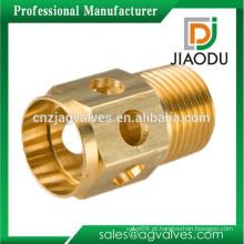 Fabricante a melhor venda forjou o npt cw617n que gira peças de bronze hidráulicas pneumáticas rosqueadas